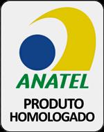 Homologado pela Anatel